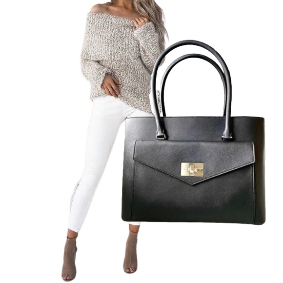 kate spade Handbags - Kate Spade | Halsey Black Tote Bag